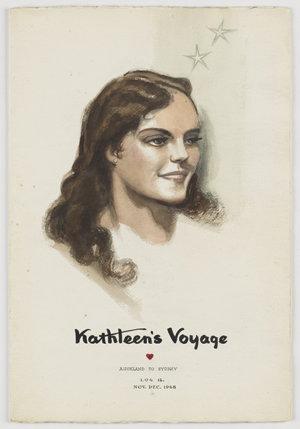 File 12: Kathleen's voyage, Auckland to Sydney, Log 12, Nov-Dec 1948