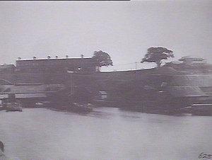 Government boat sheds near 7B, Circular Quay