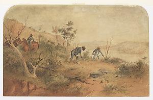 Native police tracking / Samuel Thomas Gill