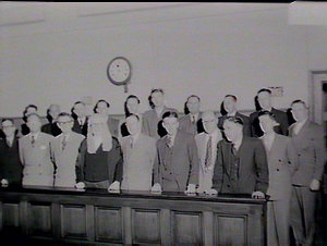 Opening of High Court trial at Wollongong