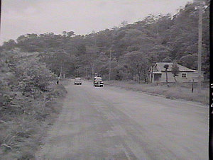 Road accident at Gosford