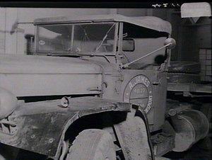 Semi-trailer accident
