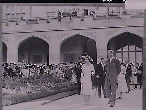 Royal garden party at Government House