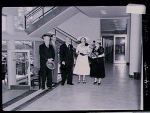 Official opening of Parke-Davis Ltd factory