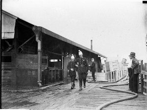 Fire at Metters' Stove Factory, Alexandria