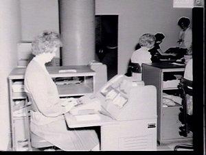 Office machinery.