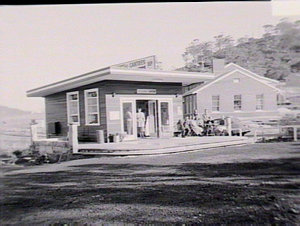 Roadside canteen at Peat Island Hospital