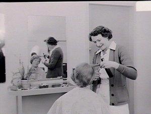 Broughton Hall: hairdressing salon