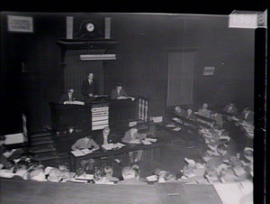 Auction sale of wool, Stock Exchange