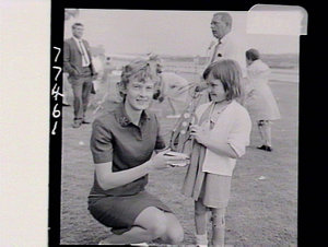 Handicapped children's annual sports day at Randwick Racecourse