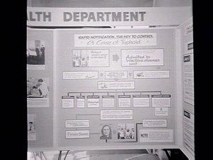 Health Dept's showstand at Health Week Exhibition