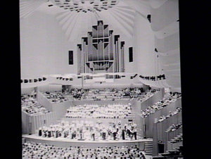 Concert at Sydney Opera House Concert Hall