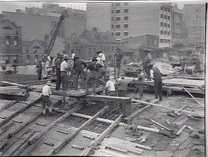 Construction of City Railway
