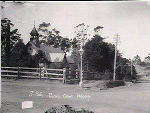 St Paul's Church, Pearce's Corner, Wahroonga