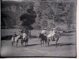 [Children horseriding]