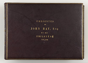 Photograph album of the employees and inhabitants of the Coolangatta Estate, Shoalhaven River, N.S.W. / presented to John Hay, Esq., by his employees, November 1891
