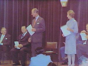 Presentation of Duke of Edinburgh Awards at Conservatorium
