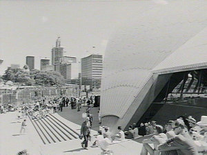 Royal visit and opening of Sydney Opera House