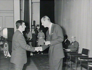 Presentation of Gold Awards by His Royal Highness, Prince Philip, Duke of Edinburgh at Conservatorium