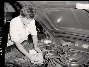 Automotive trades apprentices