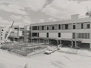 Construction progress, Westmead Hospital
