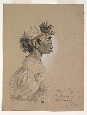 Charles Rodius collection of 9 portraits of New South Wales Aboriginal Australians, 1834