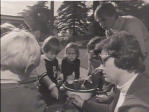 Children at Glebe playschool