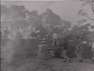 Bushfire school, Camp Mackay, Kurrajong