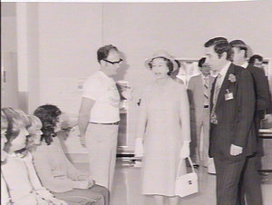 Official opening of Mt Druitt Hospital by Her Majesty the Queen