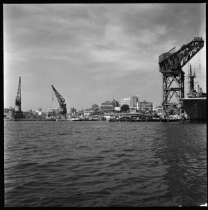 File 18: Flats and waterfronts, Navy dock etc, October 1960 / photographed by Max Dupain