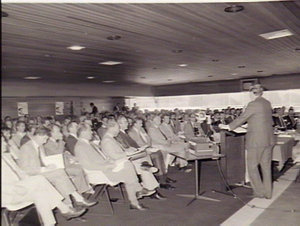 Australia - United States Defence Contractors Fair 1984. Canterbury Racecourse Function Centre