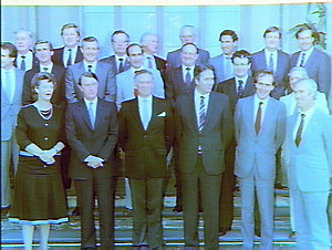 Swearing in of new Cabinet