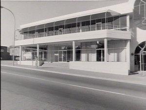 Interior and exterior photos of R.E.V.S. office at Parramatta and photos for media campaign