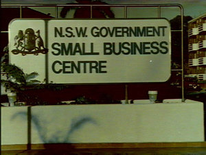 Premier Mr Unsworth opening Burwood Small Business Agency Office