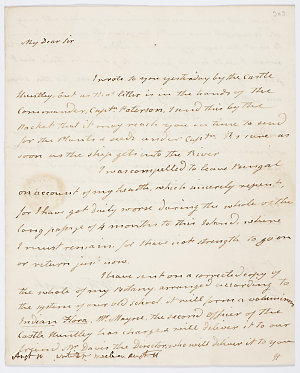 Series 20.60: Letter received by Banks from William Roxburgh, 19 June 1813
