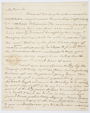 Series 20.59: Letter received by Banks from William Roxburgh, 17 June 1813