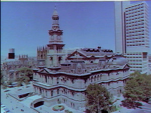 St. Andrew's Cathedral and Sydney Town Hall