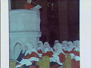Judges at religious service