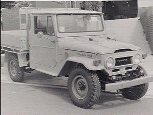 Toyota bushfire trucks
