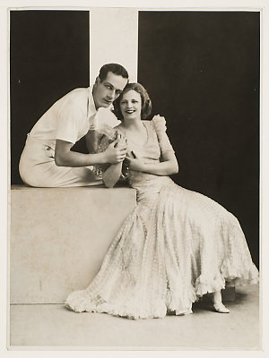 Item 02: Madge Elliott and Cyril Ritchard, ca. 1932 / Falk, Sydney [for] J.C. Williamson's Publicity Dept., 51 Castlereagh Street