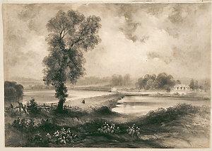 Tempe House, Cook's River, ca 1839-ca 1840