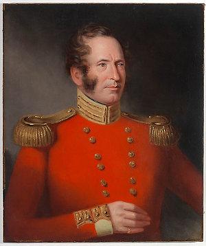 Lieutenant J.J. Peters, 28th Regiment, 1840 / painted by Maurice Felton