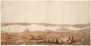 Cockle Bay now Darling Harbour, ca. 1819-20 / James Taylor