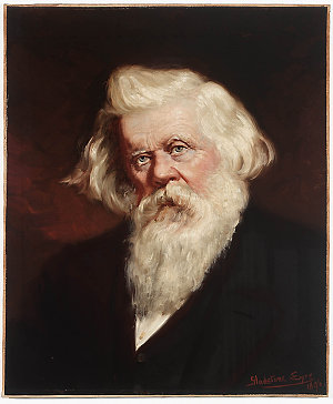 Sir Henry Parkes, 1896 / painted by Gladstone Eyre