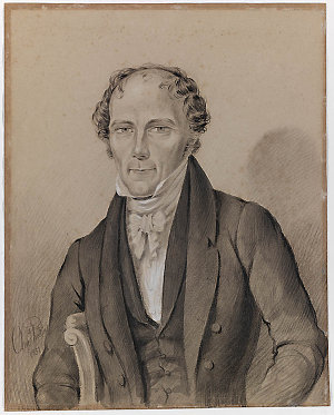 Chief Justice Sir Francis Forbes, 1852 / drawn by Charles Rodius