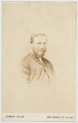 Willie (?) Allan, [ca. 1862-1870] / photograph by Oswald Allen