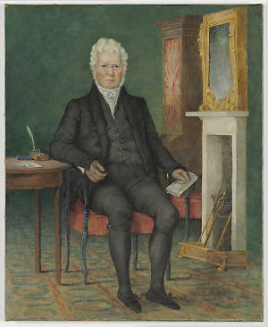 Copy of a portrait of Robert Campbell, 1834  / by Rodius