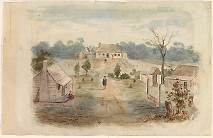 View of Governor's House, Rosehill