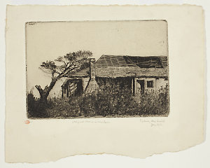 Item 02: Old Government House, Windsor, 1919 / Sydney Ure Smith