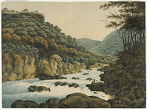 Collection 04: A View near Grose Head, New South Wales, 1809 / watercolour by George William Evans